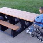 ada picnic tables
