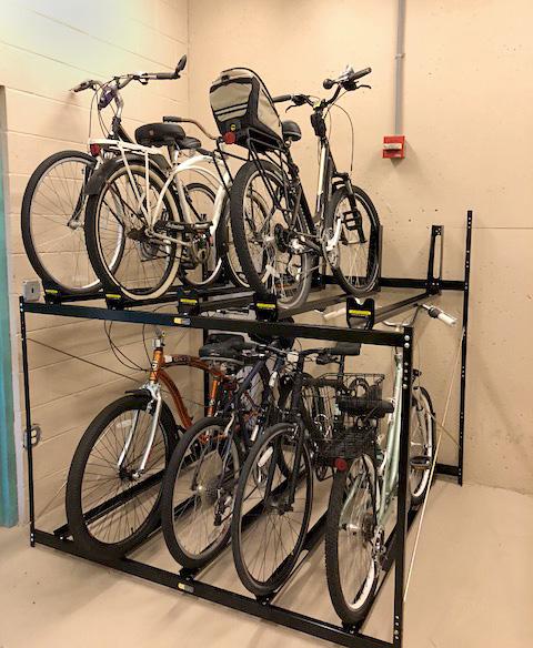Double Cker Bike Rack