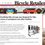 vertical bike rack in Bicycle retailer