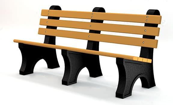 quick ship park benches