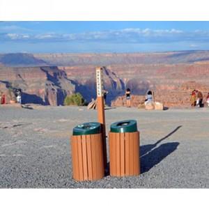 recycling receptacles at Grand Canyon National Park