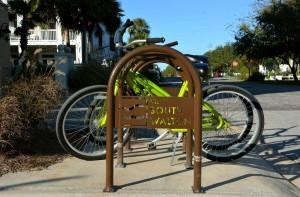 South Walton's custom bike racks