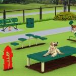 dog park equipment kit