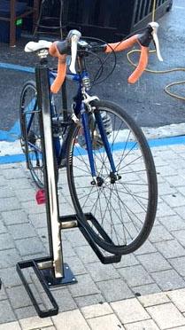 UpLift bike rack