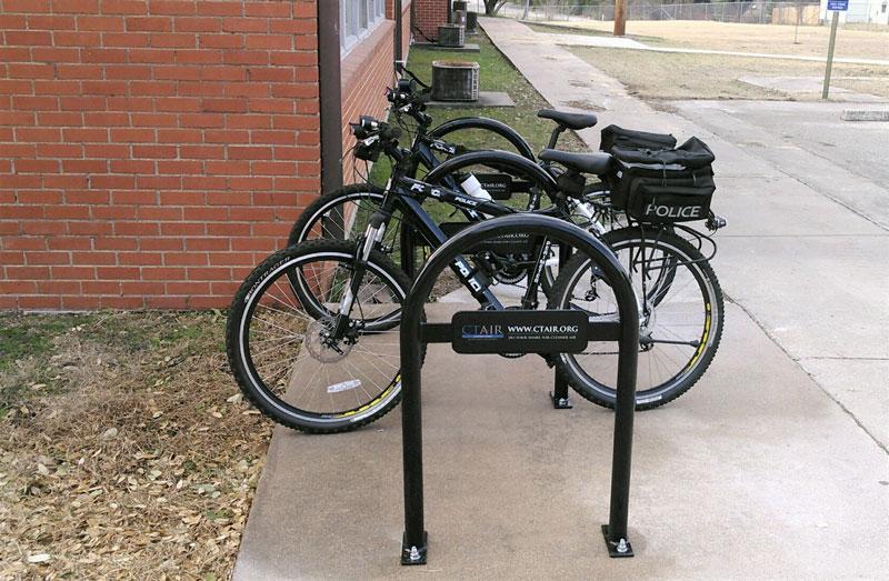 custom bike rack for ctair