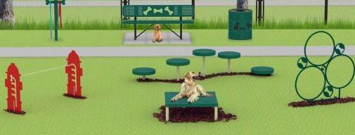 dog park equipment kits