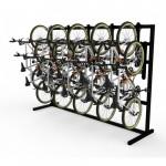 doubleup vertical bike racks
