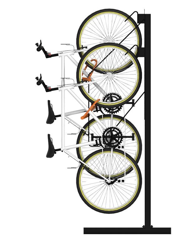 Park Catalog Introduces Doubleup Vertical Bike Racks To Maximize