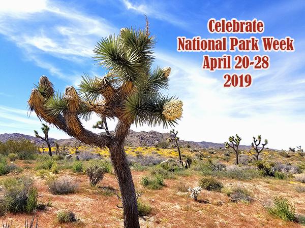 national park week 2019