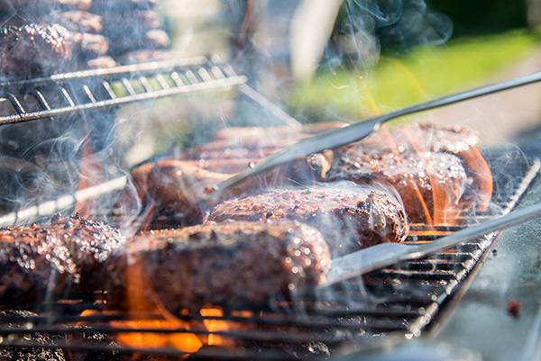 permanent grills