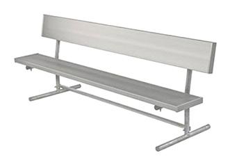 quick ship aluminum benches
