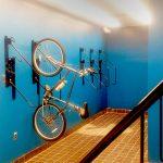 vertical bicycle racks